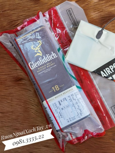 Rượu Glenfiddich 18YO Duty Hàn