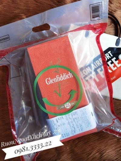 Rượu Glenfiddich 21YO Duty Hàn