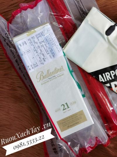 Rượu Ballantine's 21YO Duty Hàn