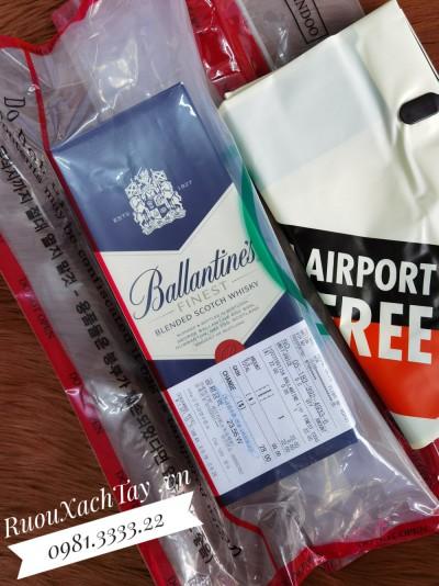 Rượu Ballantines Finest 1L Duty Hàn
